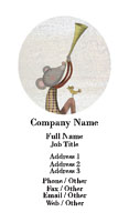 Musical Mouse Business Card Template